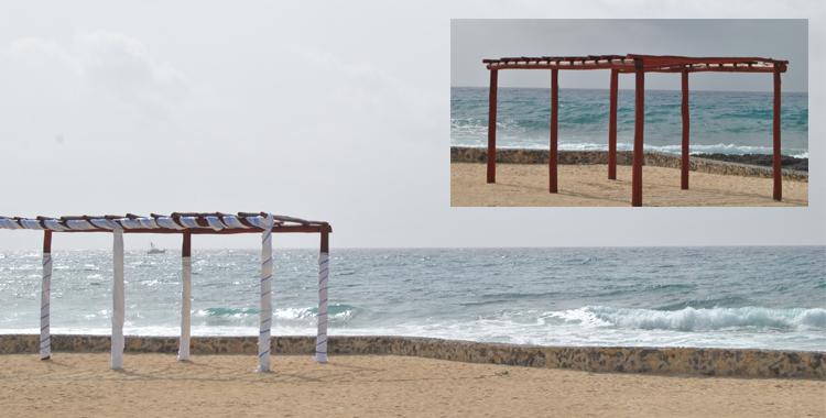 Uno de los emplazamientos del Bahía Príncipe. El más sencillo y cercano al mar