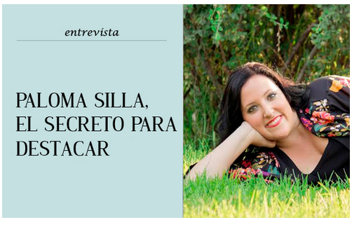 Imagen de portada de la entrevista que me realizaron como colaboradora