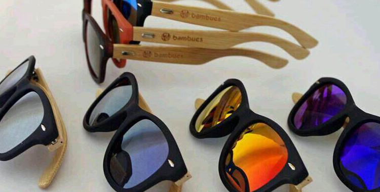 Imagen de las gafas Bambucs, también a la venta en Hiplovers