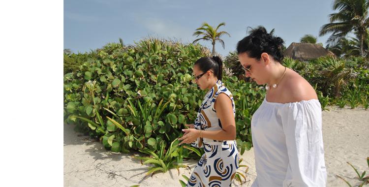 Recorrimos con Linda las impresionantes dependencias del complejo Bahía Príncipe