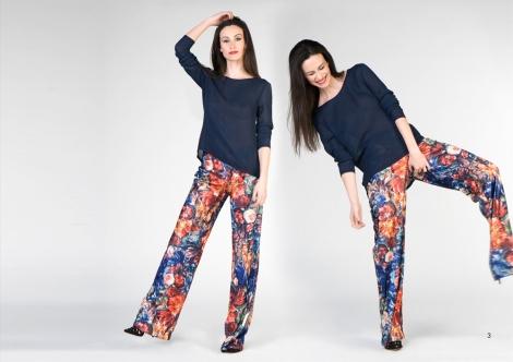 Los maxi pantalones y el vestido que veréis a continuación con el mismo estampado son sin duda alguna mis favoritos