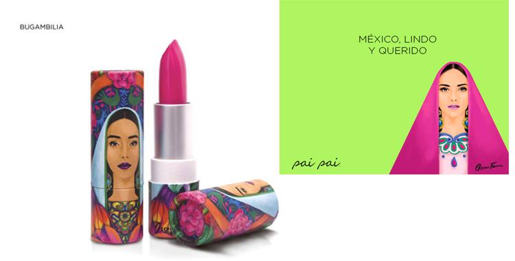Inspirada en la mujer y la tradición mexicana