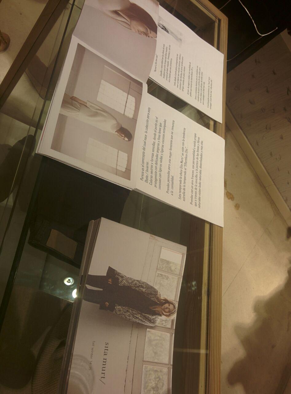 El lookbook de Sita Murt en la tienda de Cirilo Amorós