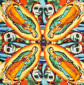 Pañuelo de inspiración mexicana de Maya Hansen