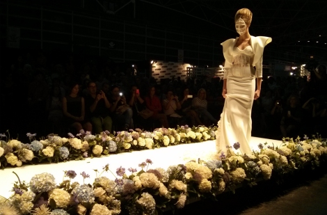 Modelos de Maya Hansen 2 Birth desfile Iberflora en Destaca-te