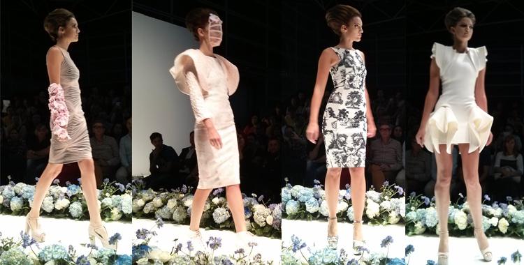 Flores, tul, neopreno,... gran variedad de tejidos para resaltar la silueta femenina