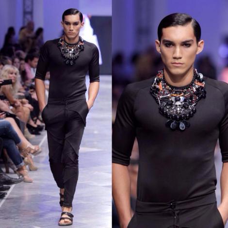 Propuestas masculinas del diseñador en la XVII Valencia Fashion Week
