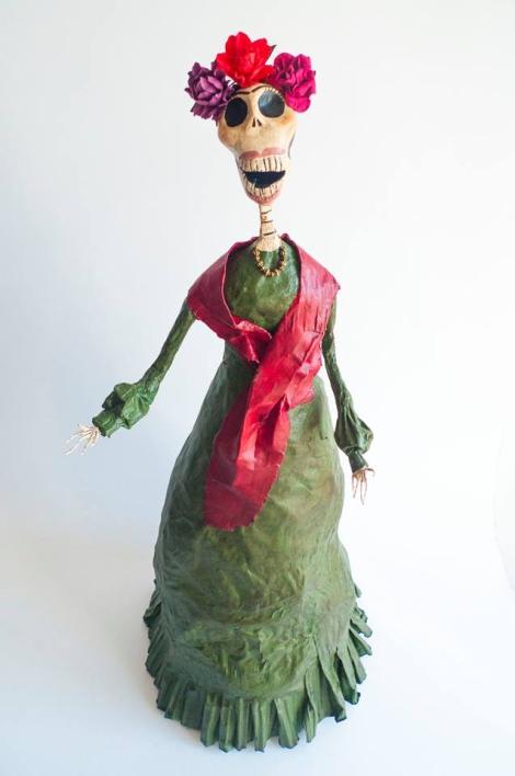 Catrina Muerta Jacinta con inspiración Frida Khalo