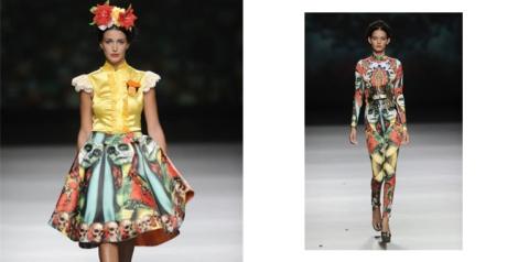 Modelos de la colección Skully Tulum de Maya Hansen SS2013