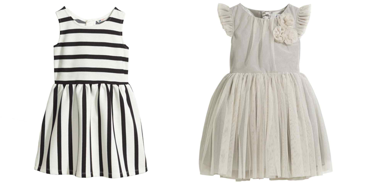 Más propuestas de H&M. Un vestido perfecto que bien podría llevar Miércoles de la Familia Adam