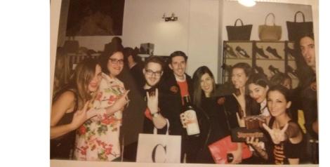 Algunos de los bloggers que asistimos al acto de presentación del nuevo número en Place Market