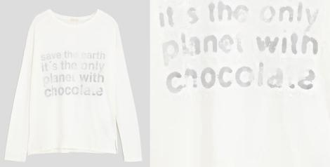 Camiseta Planet de Oysho. Precio: 15,99 euros