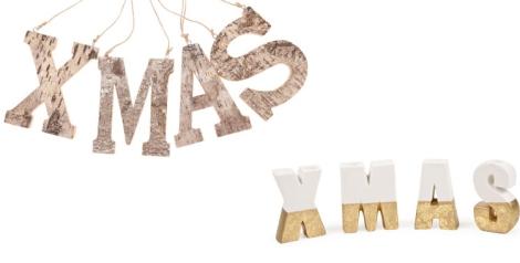 Christmas. Letras tendencia de venta en Zara Home