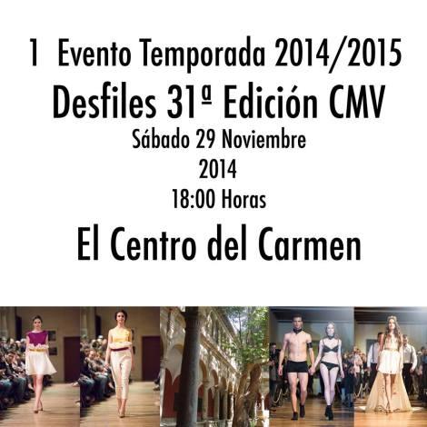 Desfiles 31 edición de CMV en el Centro del Carmen