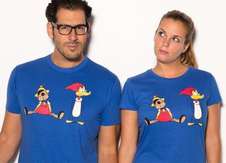 Podéis ver en otro post lo divertidas que son las camisetas de Pampling. Aquí os dejo este modelo. Precio: 19.95 euros