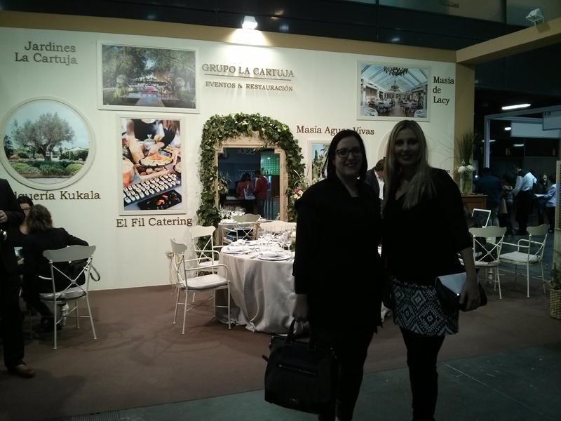 Aquí os dejo una foto con mi amiga Cristina que me acompañó durante toda la jornada