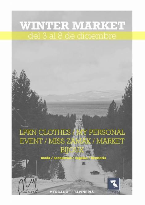 Winter Market, perfecto para hacer las compras de Navidad