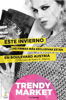 Imagen promocional del Trendy Market ubicado en la Galería Don Juan de Austria