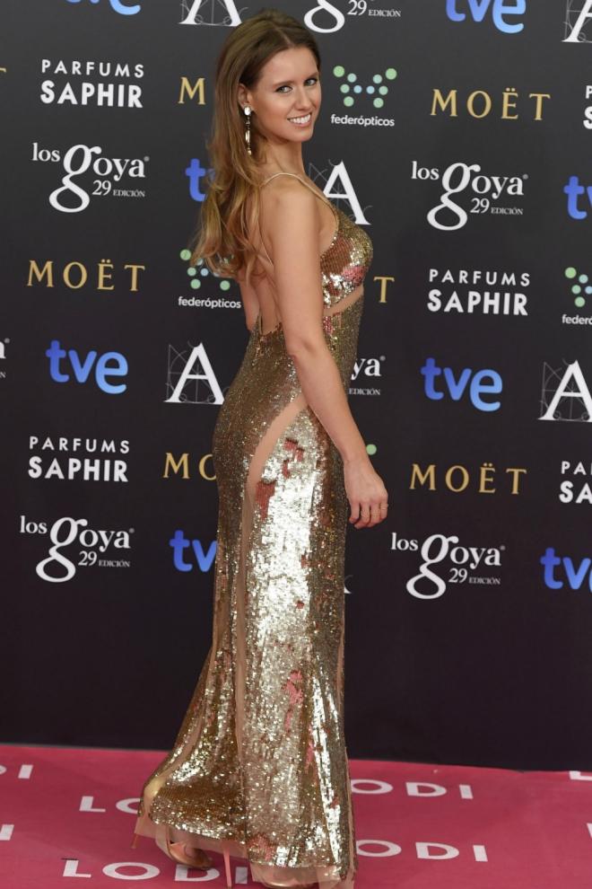 Manuela Vellés entre las más brillantes de la noche. Imagen de Grazia España