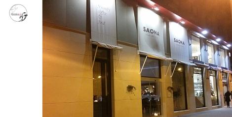 Fachada del restaurante Saona en Cortes Valencianas