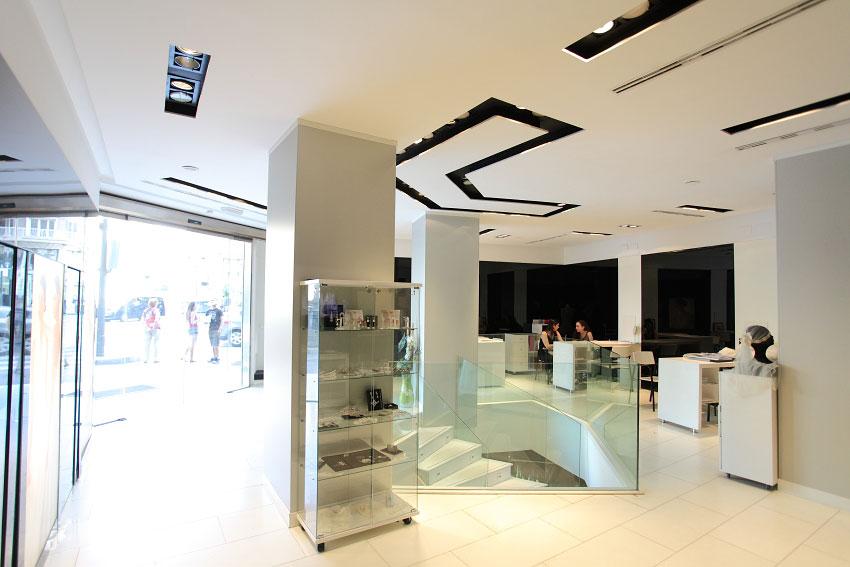 Interior del espacio de Atelier en el centro de Valencia