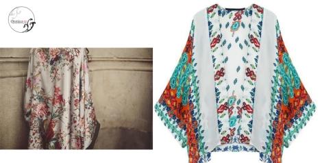 Otra propuesta floral de She Inside y el modelo espectacular de Kemehia, Adara