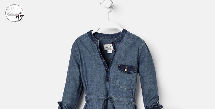 vestido camisero jeans Massimo Dutti tendencia 2015 Destaca-te