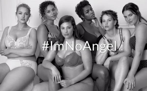campaña viral #ImNoAngel de Lane Bryant twitter plus size curvy en Destaca-te