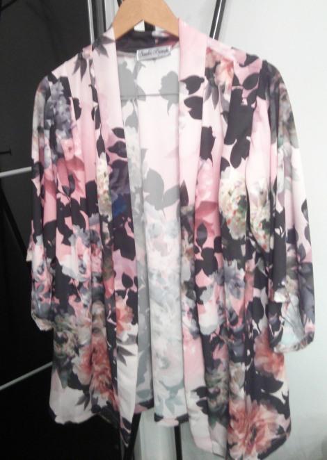Mi Kimono. El resultado final