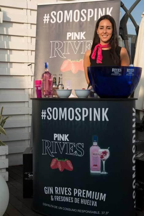 Pink Rives estuvo presente como colaborador en el evento