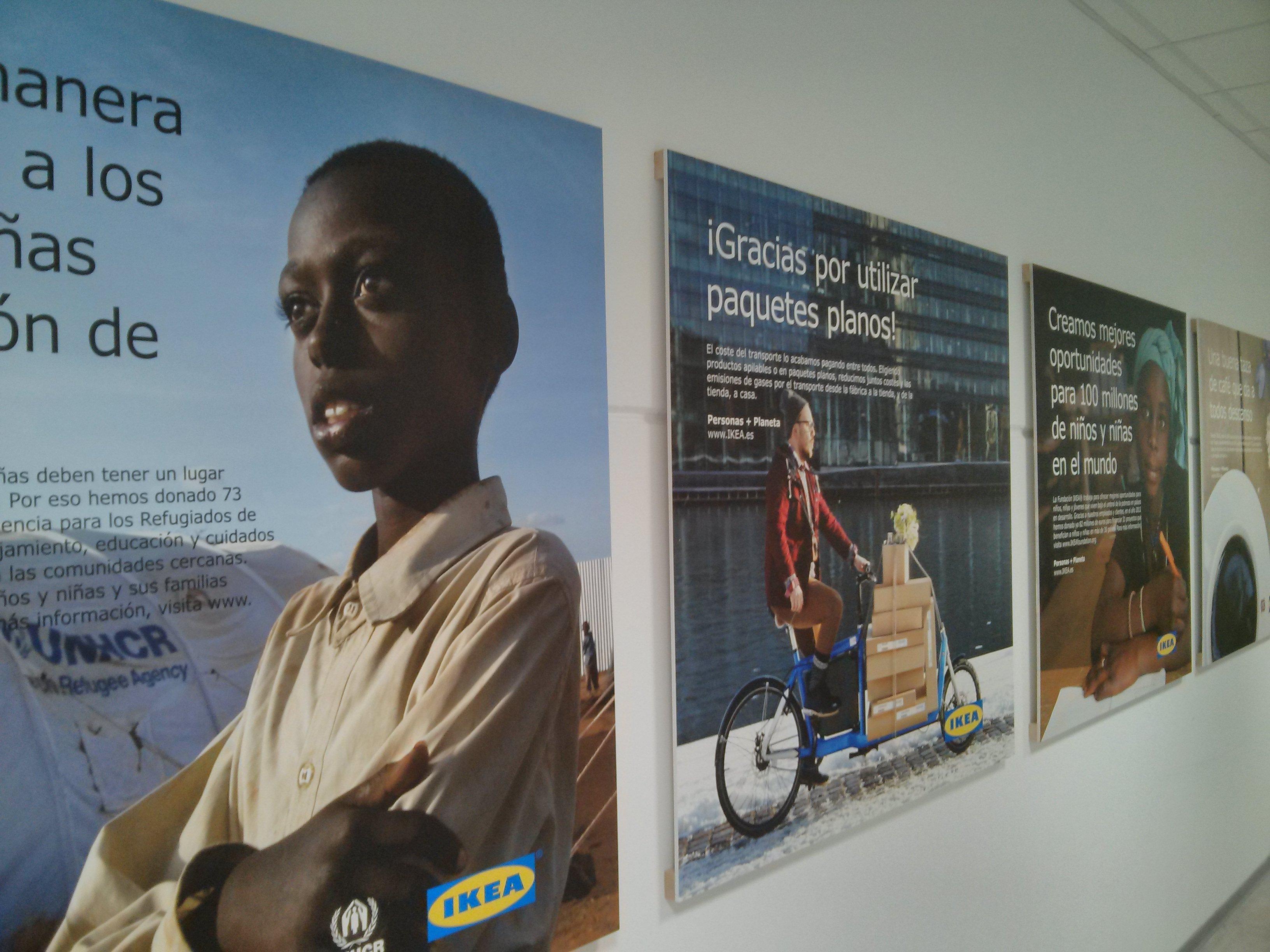 La solidaridad también está presente en el día a día a través de la Fundación Ikea