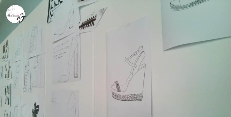 Sala de creatividad. Los bocetos son el primer paso para crear sueños