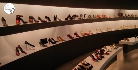 Imagen del impresionante showroom de Magrit