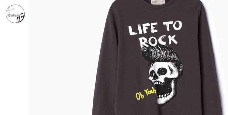 Rock Niño Al ColeCamiseta De Ideas Vuelta Zara ny0wN8Ovm