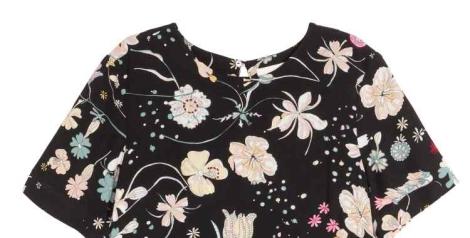 vestido verano H & M con flores