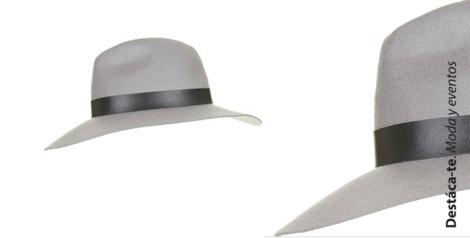 Sombrero fedora lluvia complementos topshop Destaca-te