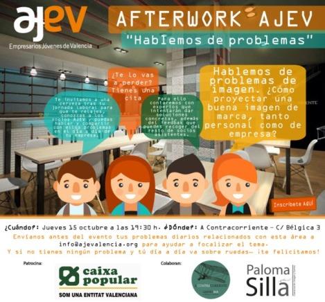 Afterwork comunicacion AJEV imagen marca empresarios