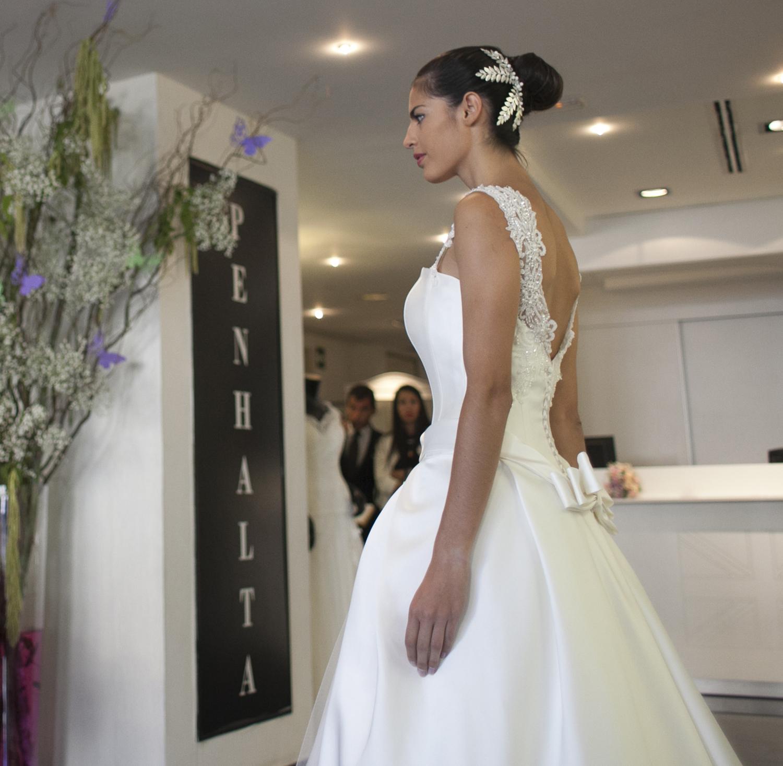 Penhalta Valencia moda novia ceremonia