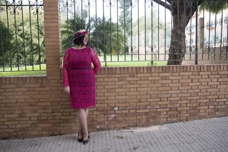 Paloma Silla Destaca-te tallas grandes Violeta by Mango Vicky Martin Berrocal