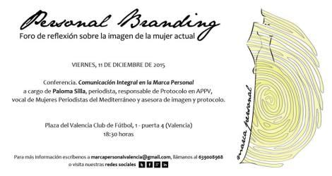 Marca personal branding Paloma Silla protocolo imagen comunicacion