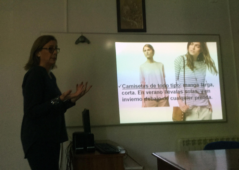 Inmaculada Martinez en una de las sesiones