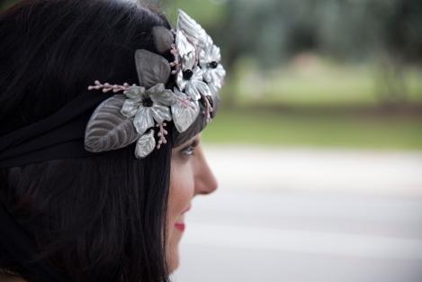 Outfit plus size tallas grandes short joya tocados Paloma Silla