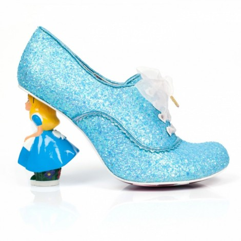 Alicia en el País de las Maravillas a través del espejo zapatos mágicos irregular choice