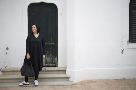 Paloma Silla Destaca-te tallas grandes curvy asesoria de imagen personal shopper working girl look de dia y noche total black outfit