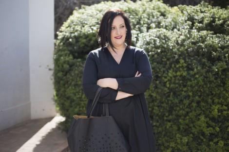Paloma Silla Destaca-te tallas grandes curvy asesoria de imagen personal shopper working girl look de dia y noche total black