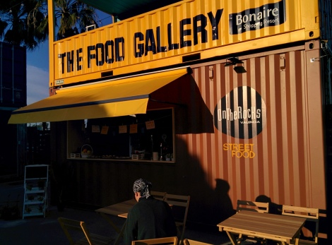 the food gallery bonaire Destaca-te Paloma Silla food street pop up restaurant