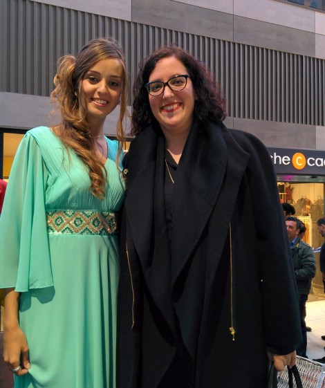 Destaca-te Paloma Silla con Lidia Gonzalez Regolf miss valencia 2015