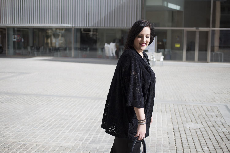 Look tallas grandes kimonos y flecos save my bag asesoria de imagen Paloma Silla Destaca-te