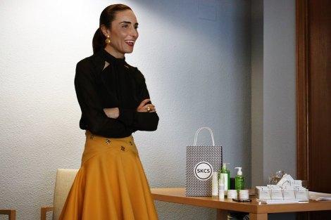 Amparo Burgos habla sobre cuidado facial
