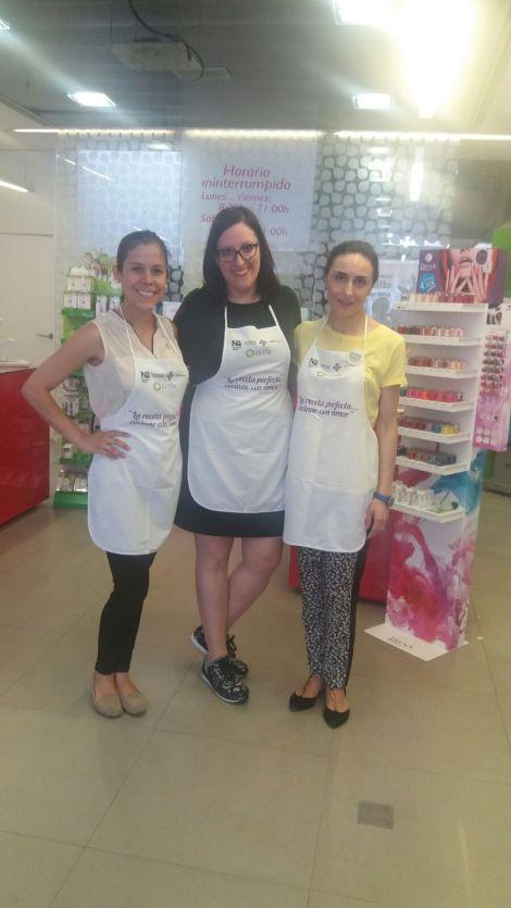Farmacia Amparo Burgos taller saludable Paloma Silla